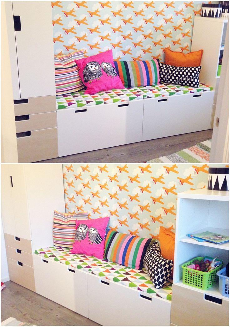 188 besten kinderzimmer kid s room bilder auf pinterest aufzubauen baufahrzeuge und hinzu. Black Bedroom Furniture Sets. Home Design Ideas