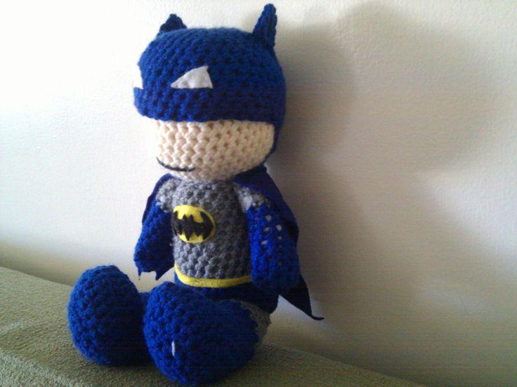Batman Cushion Knitting Pattern : 17 Best images about Crochet Stuffies on Pinterest Ravelry, Patterns and Lo...
