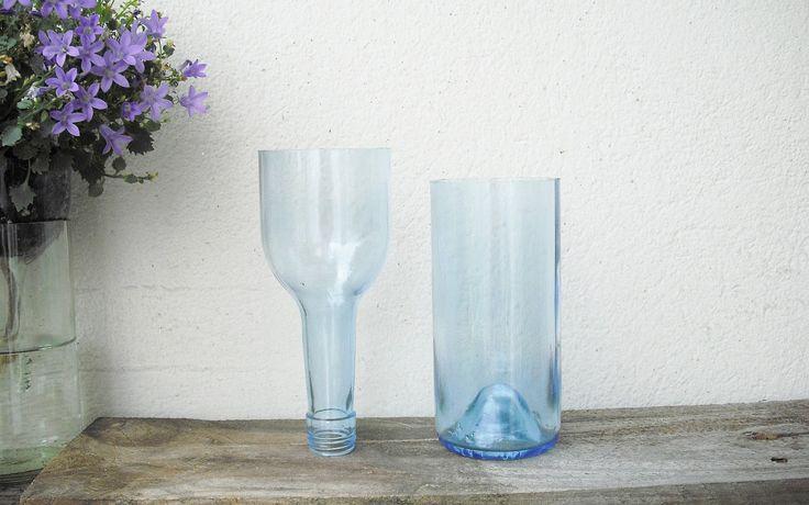 ber ideen zu glasflaschen schneiden auf pinterest glasfl schchen glasflaschen und. Black Bedroom Furniture Sets. Home Design Ideas