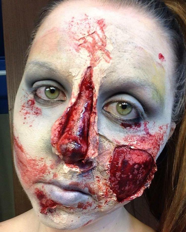 FX / Halloween Makeup Split Nose | Halloween/Fall | Pinterest ...