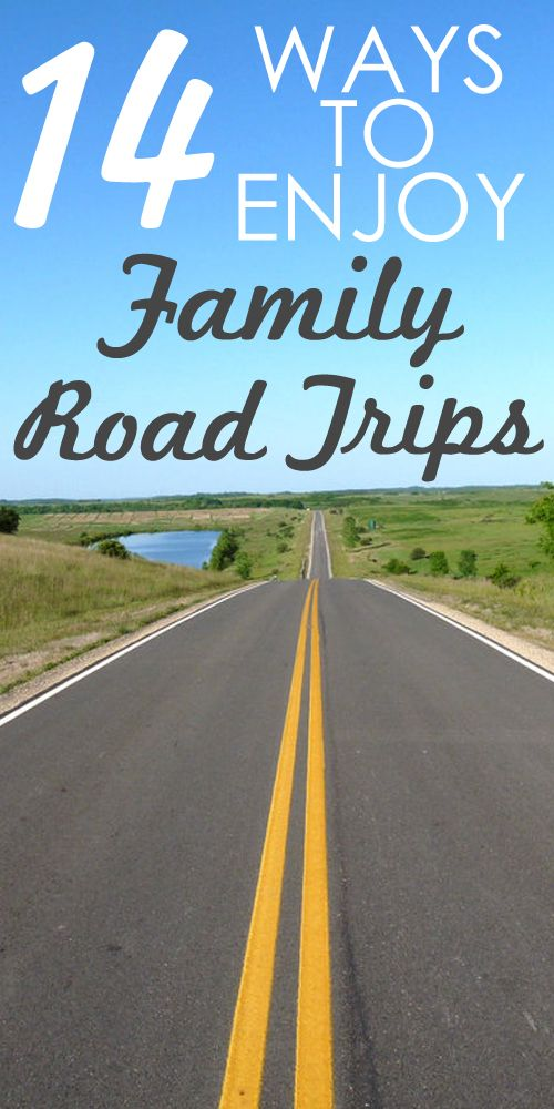 Traveling for the holidays?  Road trips don't have to fill you with dread. Here are 14 ways to actually ENJOY your next family road trip!