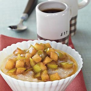 Hot Quinoa Cereal with Maple Syrup Apples. Image from: http://www.myrecipes.com/recipe/hot-quinoa-cereal-maple-apples-50400000117219/