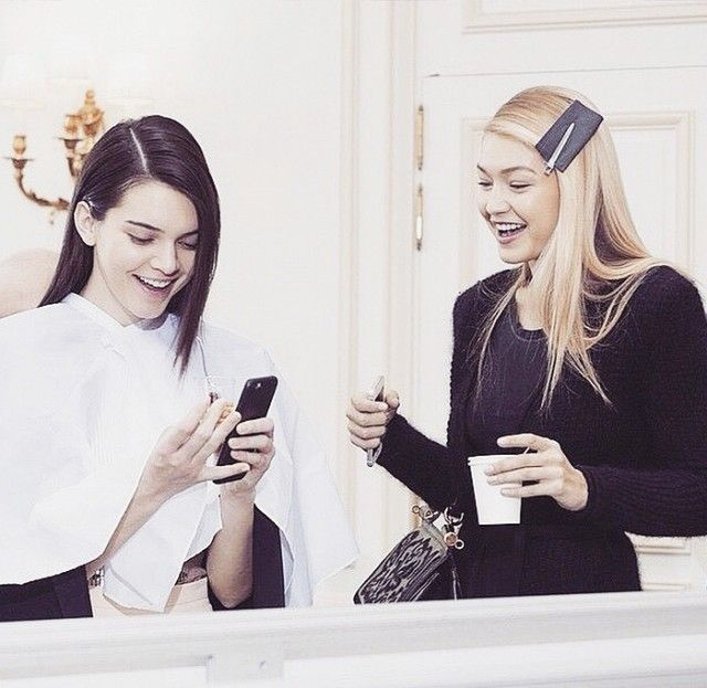 13 Candid BFF Pics of Kendall Jenner and Gigi Hadid | WhoWhatWear