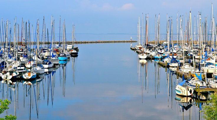 Nee dit is geen haven in een of ander troisch oord... Je vindt dit in Zeeland! - Bekijk meer foto's op www.reiskrantreporter.nl/reports/5714