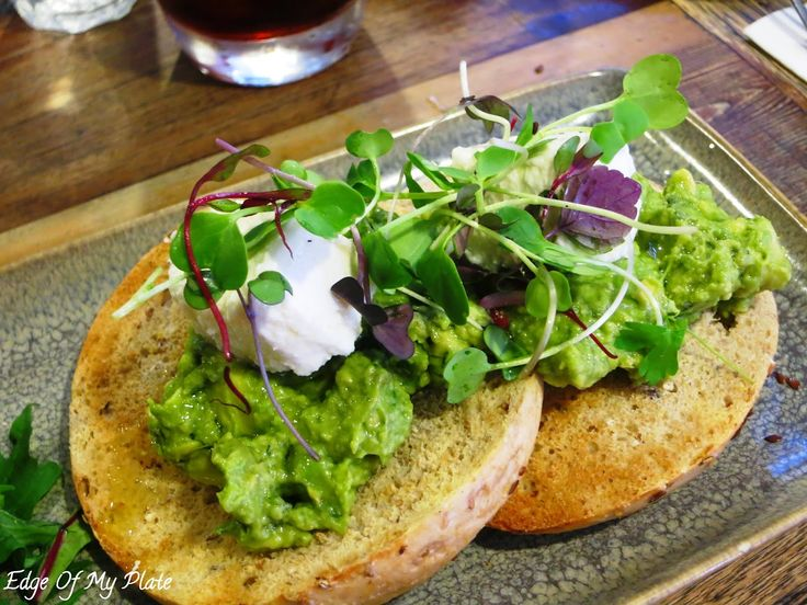 Edge Of My Plate: Bagels & Coffee At Manchester Press - Avocado Smash