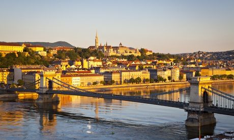 Stay in the Hungarian capital of Budapest for less at one of these budget hotels. Photograph: Douglas Pearson/Corbis