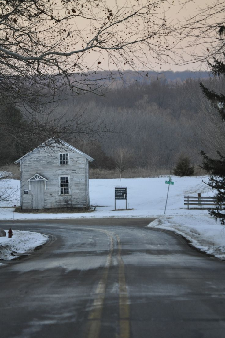 Lonesome roads.