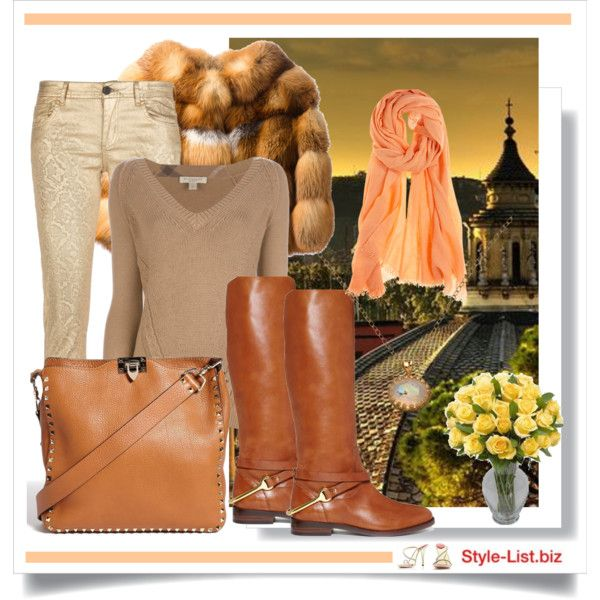 Fall Casual Outfit by http://style-list.biz  Join us on Facebook to get updates: https://www.facebook.com/stylelist.biz