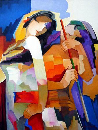 Flautista (80x85) Damião Martins