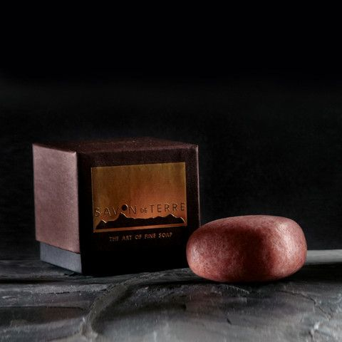 Vetiver Sunset Stone Soap £19  All the warmth of the sun with pure vetiver essential oil and red koji rice.