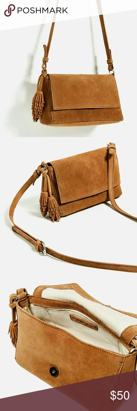 Zara Suede Bag NWT New with tags. Bought it from Zara online. Zara Bags