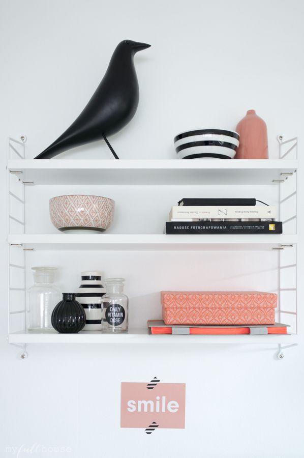 154 best string regal images on pinterest child room desks and interior. Black Bedroom Furniture Sets. Home Design Ideas