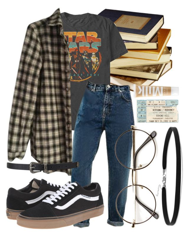 """if i could trade mistakes for sheep count me away before you sleep"" by qimmig on Polyvore featuring Brandy Melville, Vans, Forever 21, BillyTheTree and MILK MAKEUP"