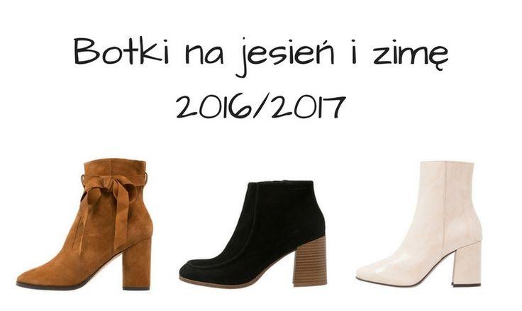 Botki na niewysokim obcasie na jesień i zimę 2016 / 2017   fitandfashion.pl