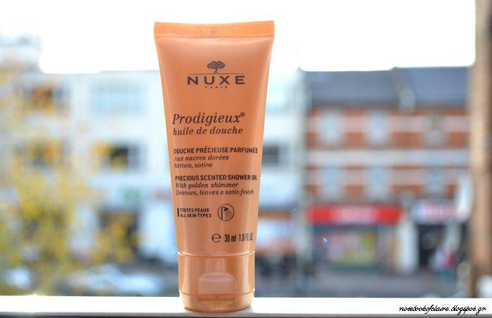 NUXE Prodigieux Huile de Douche   Review - Notebook of Claire