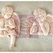 prima:-shabby-chic-resin---cherub-with-bird