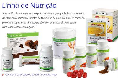 Linha Nutrição da Herbalife ... #focoemvidasaudavel