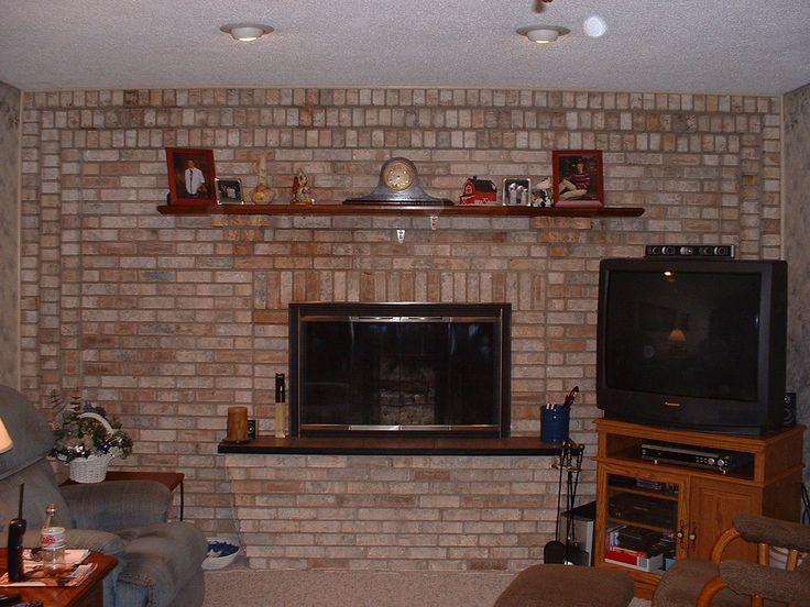 Brick Fireplaces Designs Ideas