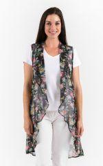 Spirituelle Ladies Lola Kimono – A cover-up, wrap and scarf, pashmina Vintage Floral g