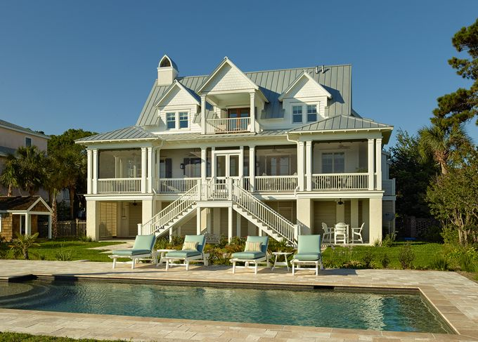 mt pleasant sc coastal home house of turquoise structures building company beautiful beach - Breathtaking Beach Houses In New York