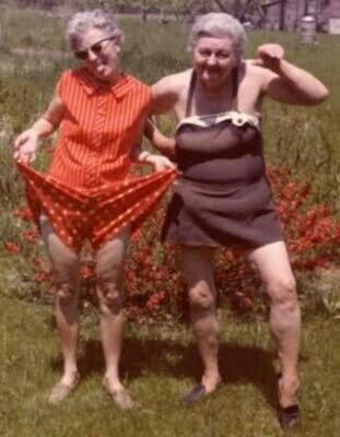 Growing old with your best friend...priceless