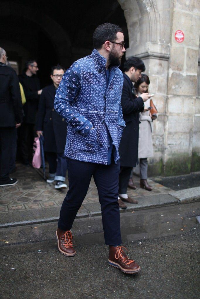 They Are Wearing: Paris Men's Fashion Week Fall 2014 - Slideshow - WWD.com