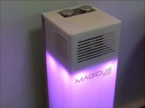 Urządzenie jest przystosowane do aromatyzowania dużych powierzchni sklepowych, lobby hotelowych ...