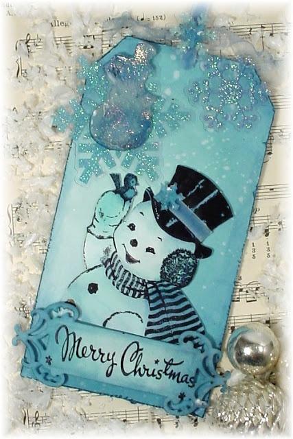Retro-12 tags of Christmas