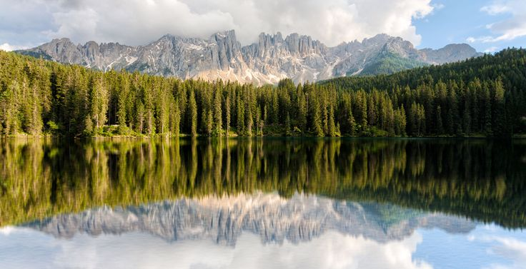 Carezza lake by Matteo Fortunato on 500px