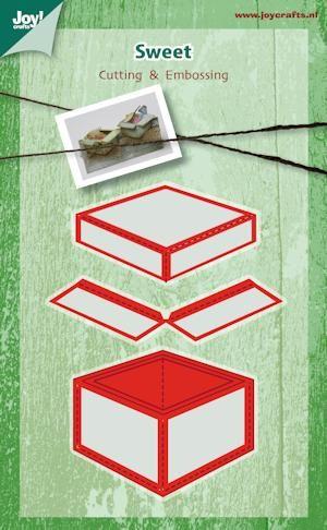 Joy!Crafts mallen 6002/0391 Doosje