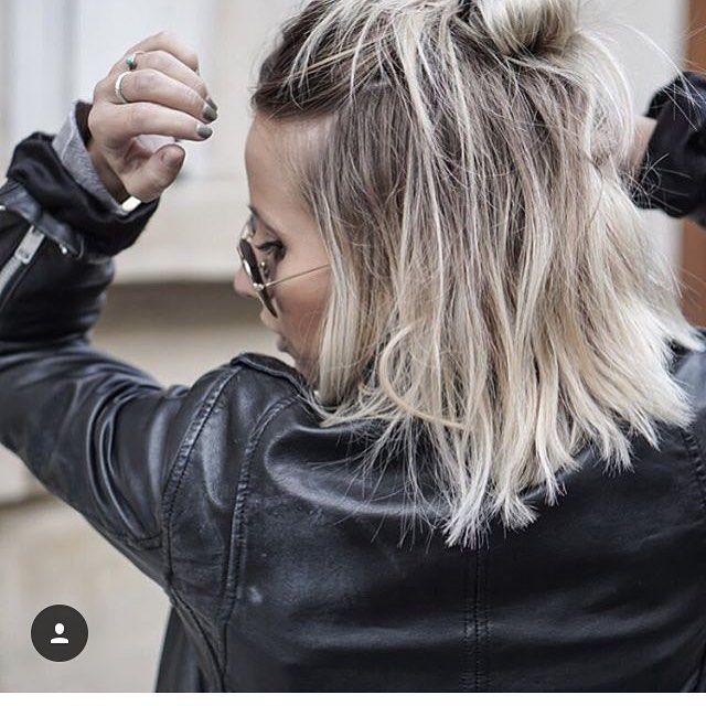 1000 ideas about blond blanc on pinterest cheveux blonds beige lignes sans bronzage and - Balayage blond blanc ...