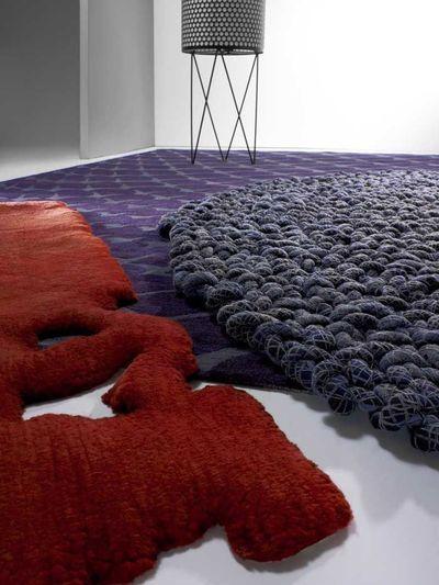 6 tapis chic, inventifs et figuratifs - Côté Maison