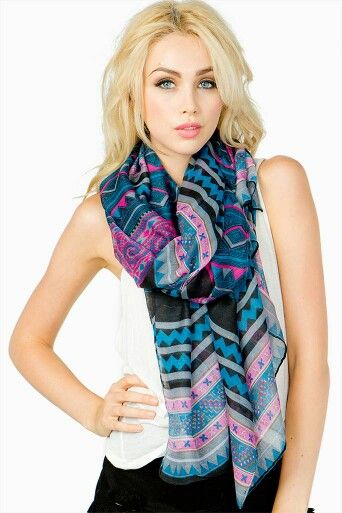 pink hmong scarf accessories