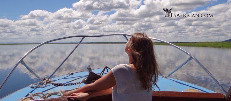 River Boat Safari, Shire River, Liwonde National Park, Malawi.
