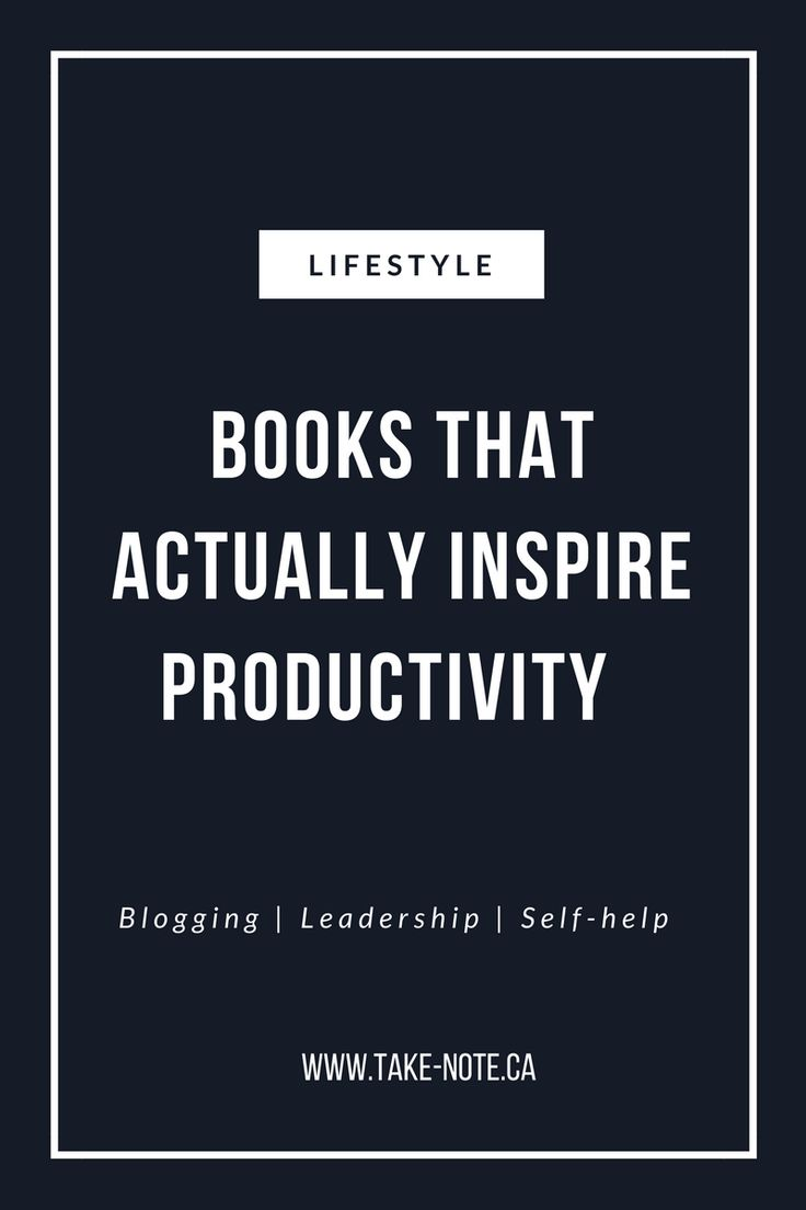 If you're new to the blogging world, these books boost creativity, demonstrate how to be a successful leader and what you need to do before starting to pursue what you love www.take-note.ca