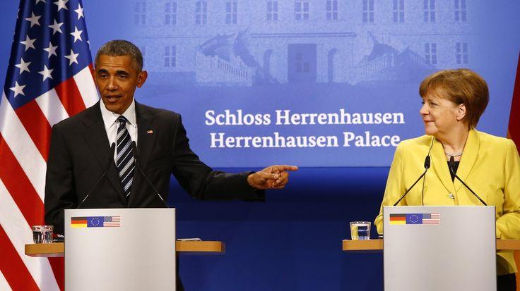 Während seines Deutschlandbesuchs hat Präsident Obama für das Freihandelsabkommen TTIP geworben. Die europäische und die amerikanische Volkswirtschaft würden profitieren.