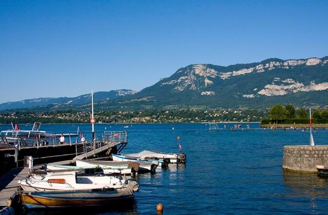 Aix-les-Bains Lac du Bourget