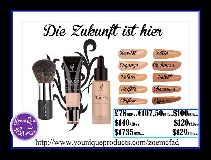 Puder Pinsel Touch Mineral Flüssig-Foundation,Touch Mineral Skin Perfecting Concealer #germany #german #bliden berlin #Schönheit