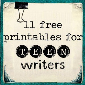 Free Downloads for Teen Writers