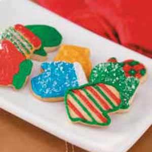 Frosted Sour Cream CutoutsDesserts Recipe, Baking Desserts, Christmas Cookies, Cutout Recipe, Cream Cutout, Cookies 2012, Desire Kind, Frostings Sour, Gracious