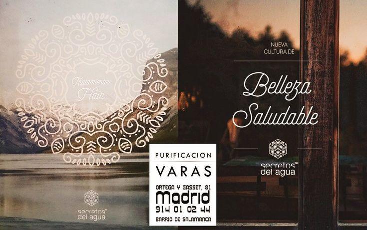 Descubre los Tratamientos Hair, de Secretos del agua, en nuestro centro PURIFICACIÓN VARAS ‼️Una nueva cultura de belleza saludable: sin agresión, al servicio de las personas y de nuestro entorno ⭐️ #BarrioDeSalamanca #OrtegayGasset · #Madrid #PurificaciónVaras #Peluquería #Madrid #SalónDeBelleza ➡ 91 401 02 4