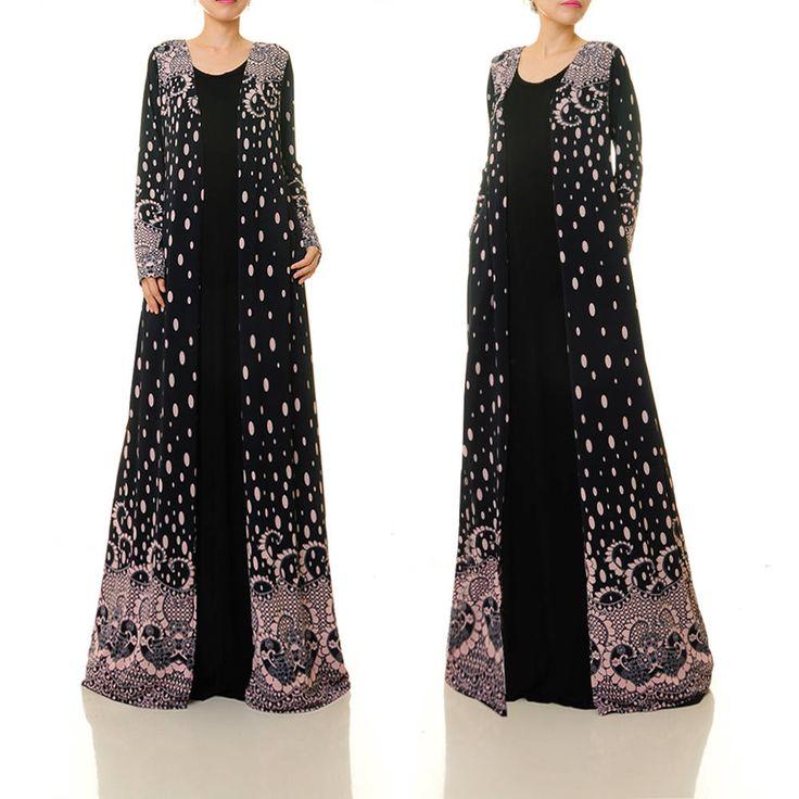 Long Cardigan Duster Coat | Boho Kimono Cardigan | Long Duster Cardigan | Long Kimono Robe | Boho Robe Kimono Jacket | Maxi Cardigan 6454 by Tailored2Modesty on Etsy