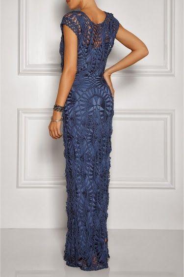 Outstanding Crochet: Crochet Dress from Lisa Maree.