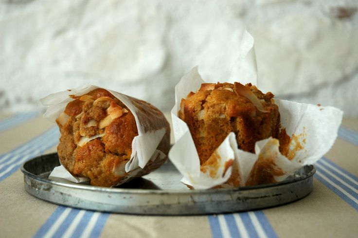 pina colada muffins......great breakfast sweet -pine apple and shredded coco nut muffin...