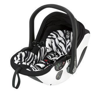 kiddy evo-lunafix 600 zebra including kiddy isofix base 2