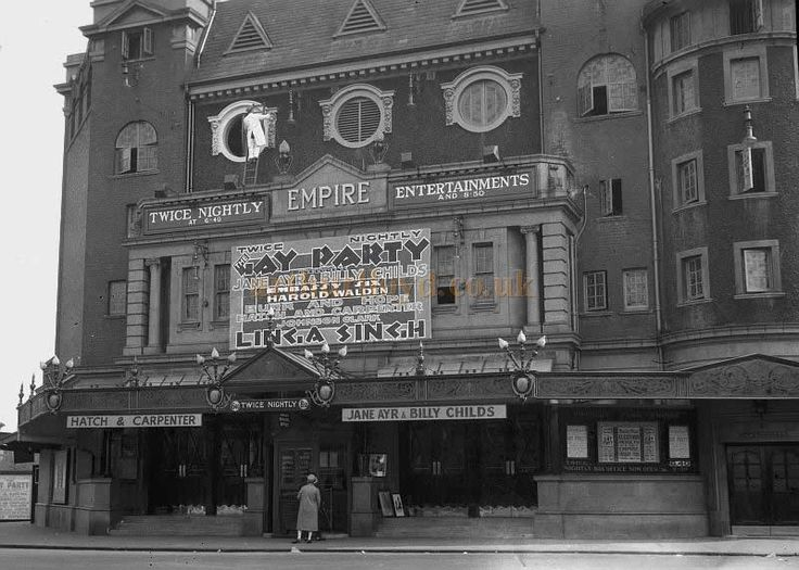 The Finsbury Park Empire during the run of 'Gay Party' in 1929