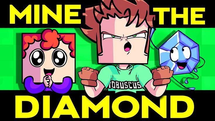 MINE THE DIAMOND (Minecraft Original Song) [Tobuscus & Terabrite]