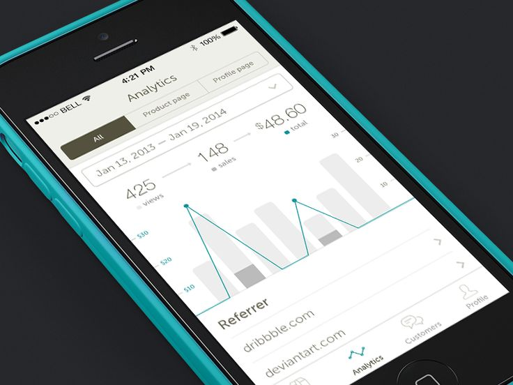 Gumroad for iOS (concept)