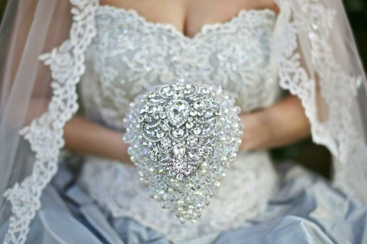Crystal droplet bouquet