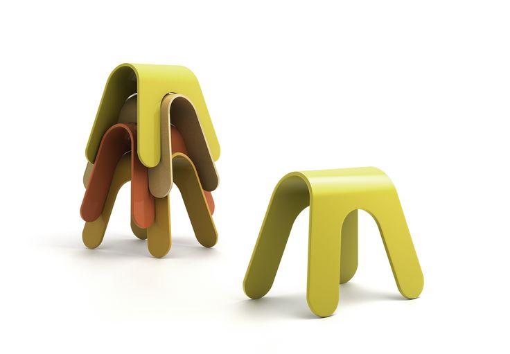 TASSEN stool by Ole Petter Wullum